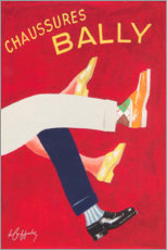 Premium poster  Bally shoes (french) - Advertising Collection