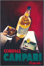 Acrylic print  Cordial Campari - Advertising Collection