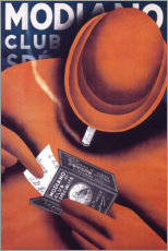 Foam board print  Modiano - Advertising Collection