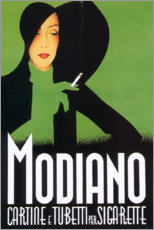 Canvas print  Modiano (Italian) - Advertising Collection