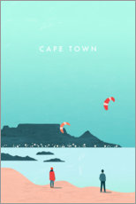 Gallery print  Cape Town illustration - Katinka Reinke