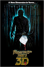 Premium poster Friday the 13th (English)