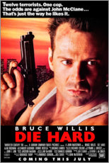 Premium poster Die Hard (English)