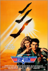 Wood print  Top Gun - Entertainment Collection