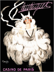 Premium poster Mistinguett Casino in Paris (French)