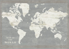 Canvas print  World map vintage - Sue Schlabach