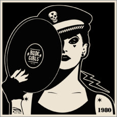 Foam board print  Rude Girls Records I - dolceQ