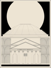 Canvas print  Pantheon - dolceQ