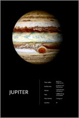 Canvas print  Jupiter - Art Couture