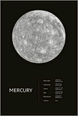 Premium poster Mercury