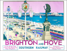 Aluminium print  Brighton and Hove - Kenneth Shoesmith