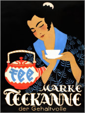 Premium poster  Teapot, the salary (German) - Jupp Wiertz