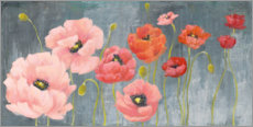 Premium poster  Poppy Party - Julia Purinton