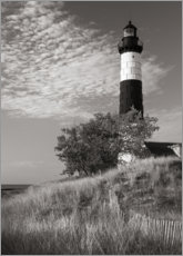 Premium poster Big Sable Point Lighthouse II