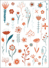 Premium poster Flowers of the Summer