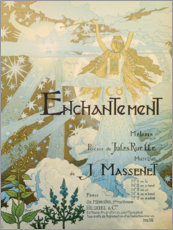 Wall sticker  Enchanted (French) - Eugene Grasset