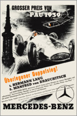 Gallery print  Grand Prix of Pau 1939 (German) - Advertising Collection