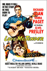 Canvas print  Love Me Tender - Entertainment Collection
