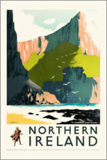 Premium poster  Northern Ireland - Travel Collection