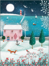 Wall sticker  Christmas by the sea - Jo Parry