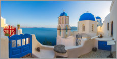 Premium poster  Sunrise over Oia - Jaynes Gallery