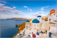 Canvas print  Oia, Greek Orthodox Church - Jaynes Gallery