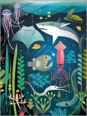 Canvas print  Under the sea - Amanda Shufflebotham