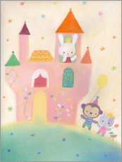 Wall sticker  Our fairytale castle - Dubravka Kolanovic