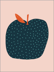 Gallery print  Blue apple - Alice Potter