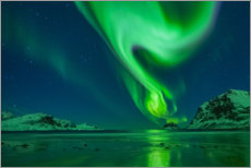 Premium poster  Northern lights - Felix Pergande