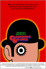 Premium poster Clockwork Orange