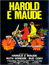 Canvas print  Harold and Maude (Italian) - Entertainment Collection