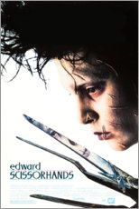 Premium poster Edward Scissorhands (English)