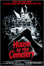 Foam board print  The House by the Cemetery - Entertainment Collection