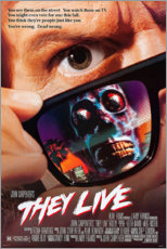 Premium poster They Live
