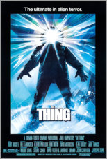 Canvas print  The Thing - Entertainment Collection
