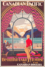 Gallery print  Lake Louise - Kenneth Shoesmith