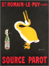 Premium poster  Water from St. Romain-Le-Puy (French) - Leonetto Cappiello