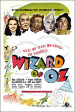 Premium poster Wizard of Oz