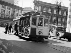 Canvas print  San Francisco in the 30s