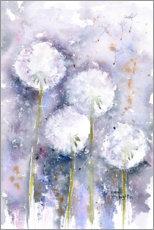 Wall sticker  Dandelions in the wind - Rachel McNaughton