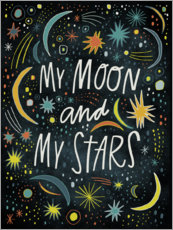 Canvas print  My Moon And My Stars - Laura Korzon