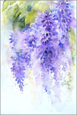 Foam board print  Purple lilac - Rachel McNaughton