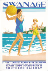Wall sticker  Swanage - Kenneth Shoesmith