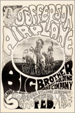 Premium poster  Jefferson Airplane 1966 - Entertainment Collection