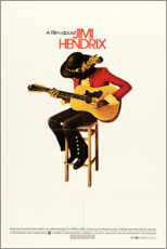 Premium poster  Jimi Hendrix 1973 - Entertainment Collection