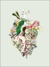 Foam board print  Botanical heart - Bianca Green