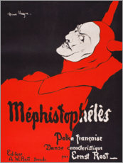 Acrylic print  Mephistopheles - Hans Unger