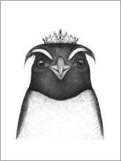 Canvas print  The Queen Penguin - Valeriya Korenkova