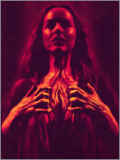 Foam board print  Suspiria - The Usher designs